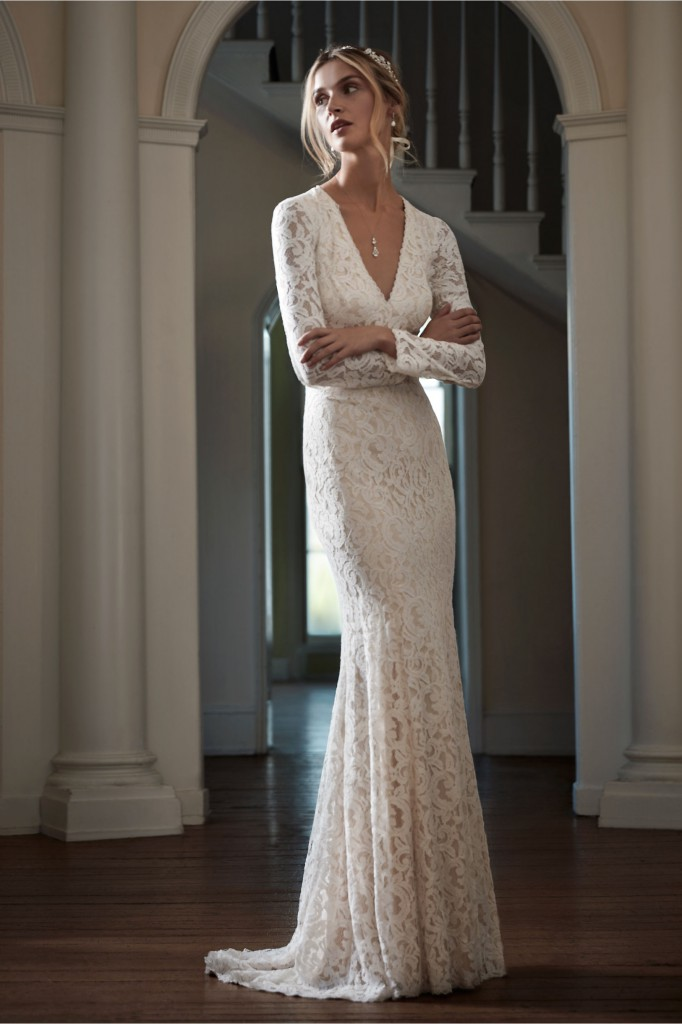Lisette Gown_BHLDN_a couple